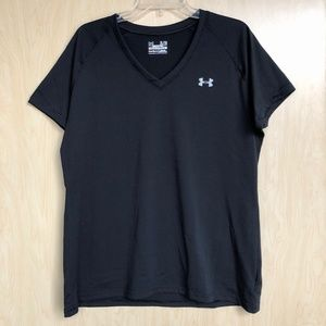 Under Armor V-Neck Semi-Fitted Athletic Top